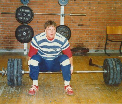 Vægtløftning, december 1984